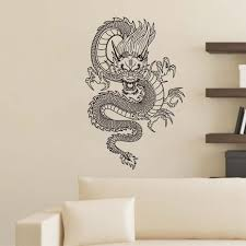 aliexpress com buy free shipping oriental chinese style dragon aliexpress com buy free shipping oriental chinese style dragon wall stickers vinyl decal waterproof art wall murals home decor bedroom decoration from