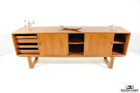 mid century streamline danish teak sideboard modernism