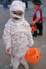 Halloween Costume Mummy Easy Sew Child U0027s Mummy Costume Children