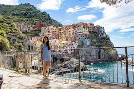 Manarola Italy Map by How To