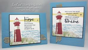 high tide shining lighthouse cards cool sting