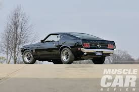 Black Mustang 1969 1969 Ford Mustang Boss 429 The Boss Is Back Rod Network