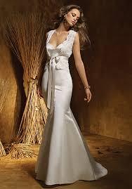 find elegant simple wedding dress 2014 column wedding dresses