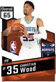 christian wood 65 myteam bronze card 2kmtcentral