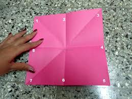 kids paper craft origami basket 3