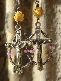 tiny blessings jewelry tiny blessings antique religious gemstone rosary assemblage wrap
