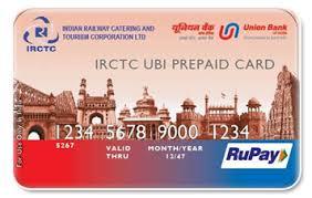bank prepaid cards irctc union bank of india prepaid card review capitalvidya