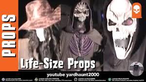 scarecrow u0026 grim reaper u0026 emperor of evil pvc props halloween yard