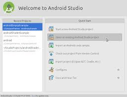 android studio install android studio openframeworks