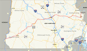 New Hampshire State Map by New Hampshire Route 9 Wikipedia