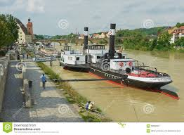 Regensburg Germany Map by View To The Old Steam Boat At Danube River In Regensburg Germany