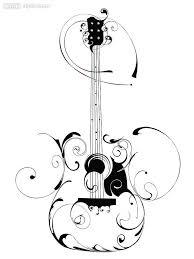 guitar swirl free images at clker com vector clip art online