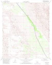 Glamis Dunes Map Topographic Maps Of Imperial County California
