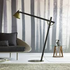 Bronze Floor Lamp Slope Bronze Floor Lamp With Arm By Miniforms Large Angled Arm