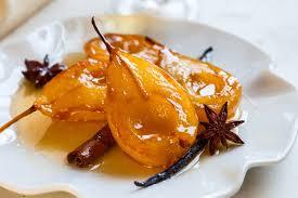 cuisiner la poir recettes de desserts à la poire