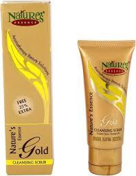 Scrub Gold nature s essence gold cleanser scrub scrub price in india