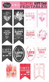 free valentine gift tag printables sohosonnet creative living