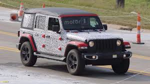 jeep wrangler unlimited sport top off 2018 jeep wrangler officially confirmed for november reveal