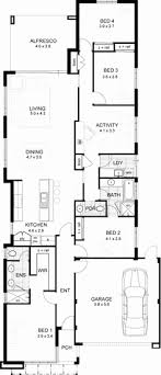 floor plans for narrow lots one story house plans narrow lot new e story house plans narrow