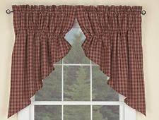 Primitive Swag Curtains Park Designs Rustic Primitive Curtains Drapes Valances Ebay