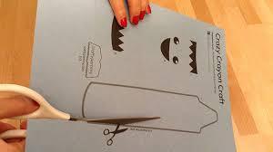 crazy crayon craft kids craft template crafty pammy