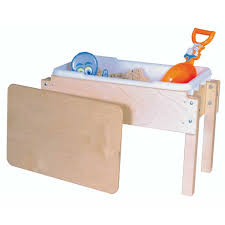 sand and water table with lid wood designs wd11812 petite sand water table schoolsin