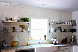 Kitchen Shelf Ideas Best Open Kitchen Shelves Decorating Ideas Pictures Liltigertoo