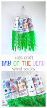 my very educated mother kids craft day of the dead wind socks