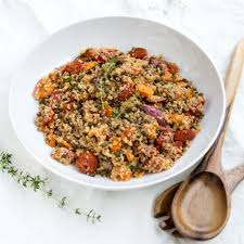 Roasted Vegetable Recipe by Roasted Vegetable Salad With Quinoa And Lentils By Cooks And Kid