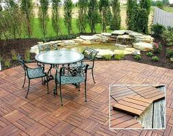 Wood Patio Flooring by 15 Attractive Wood Deck Flooring Ideas And Wooden Outdoor Tile