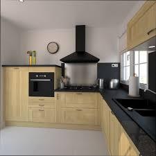 cuisine bois brut cuisine bois cuisine bois brut et noir