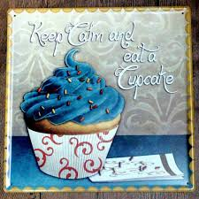 online get cheap cupcakes painting aliexpress com alibaba group delicious cupcake fashion metal ad sign wall stickers vintage home decor tin signs bar
