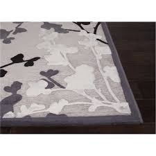 Floral Pattern Rugs Jaipur Rug11353 Fables Machine Made Floral Pattern Art Silk