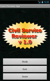 phil civil service reviewer android apps on google play