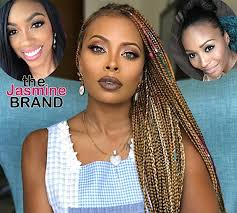 real housewives of atlanta hairstyles eva marcille may join real housewives of atlanta potentially