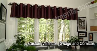 Extra Long Valance Custom Valances Swags And Cornices Bestwindowtreatments Com