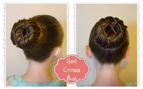 cross bun hairstyle dance hair ballet bun youtube
