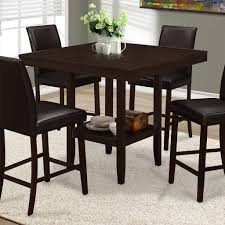 white square kitchen table white square dining table with black leather chairs for best