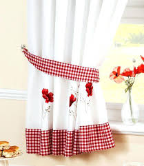 Kitchen Curtains Uk by Red And White Country Kitchen Curtains Kitchen Red Curtains Sale