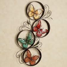 wall art ideas awesome best metal butterflies home craft hubs