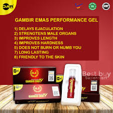 gambir emas sex performance gel to delay premature ejaculation