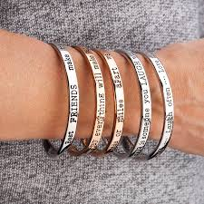 rose gold plated bracelet images Best friends message bangle rose gold plated by lauryn james jpg