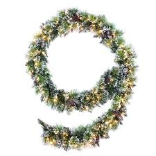 Decorative Garlands Home Martha Stewart Living Christmas Wreaths U0026 Garland Christmas