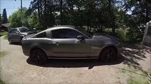 2010 Mustang Black Rims 2013 Mustang Gt Plasti Dip Rims And Hood Stripe Youtube