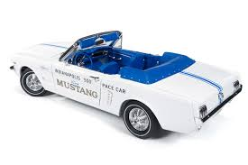 mustang of indianapolis 1964 1 2 ford mustang convertible indy pace car round2
