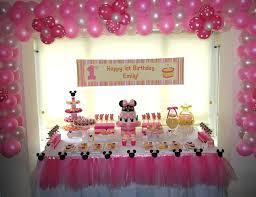 baby girl 1st birthday ideas baby girl 1st birthday party ideas decoration image