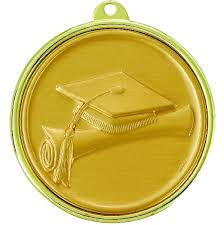 graduation medals 2 1 4 inch graduation cap and scroll medal colors