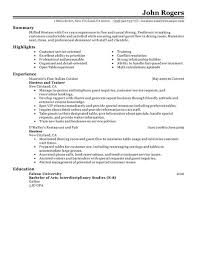 exles of resumes for restaurant restaurant host resume matthewgates co