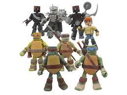 Blind Ninja Bigbadtoystore Tmnt Minimates Series 1 Box Of 18 Figures
