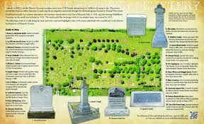 Klamath Falls Oregon Map brochure highlights linkville cemetery history oregon heritage